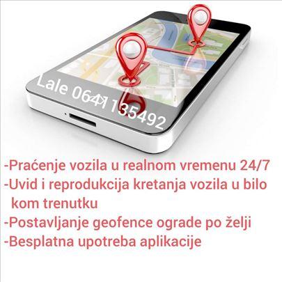 GPS Praćenje vozila(traker)