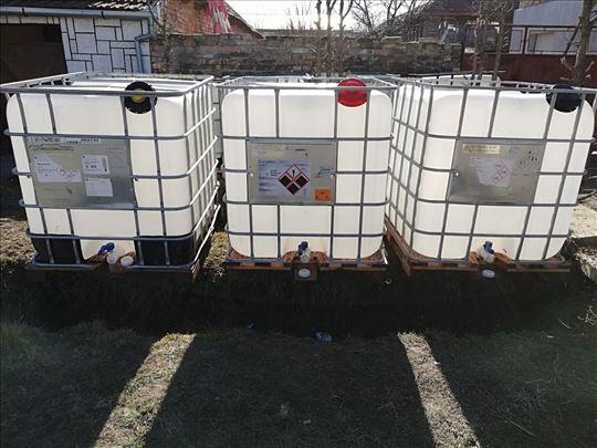 Cisterne, bidoni, tankovi 1000 l- Slanje KS-om