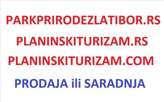 Domen parkprirodezlatibor.rs i planinskiturizam.rs