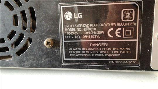 DVD player RECORDER Lg DR4810