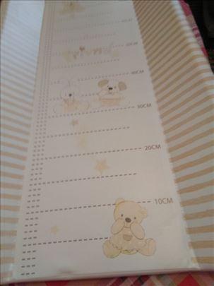 Podloga za presvlačenje beba