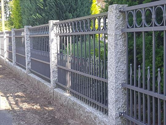 Kovane i žičane ograde