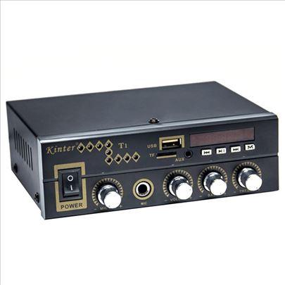 Pojačalo sa radiom USB i bluetooth