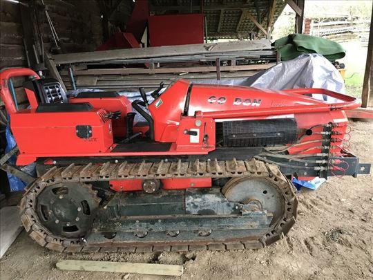 Traktor gusjenicar goldoni 75