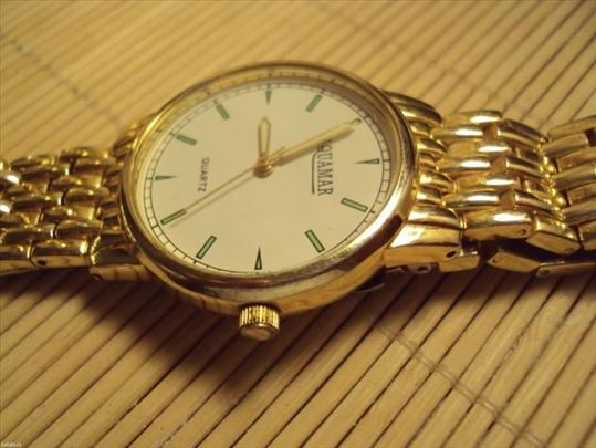 Prelep ručni kvarcni sat-aquamar masivniji