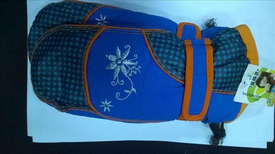 Ski rukavice decije vel.L,plavo/crvene nove