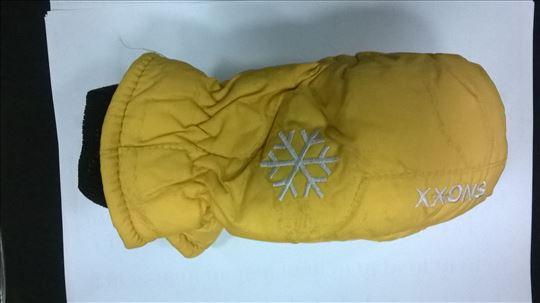 Ski rukavice dečije vel.S, žute, nove