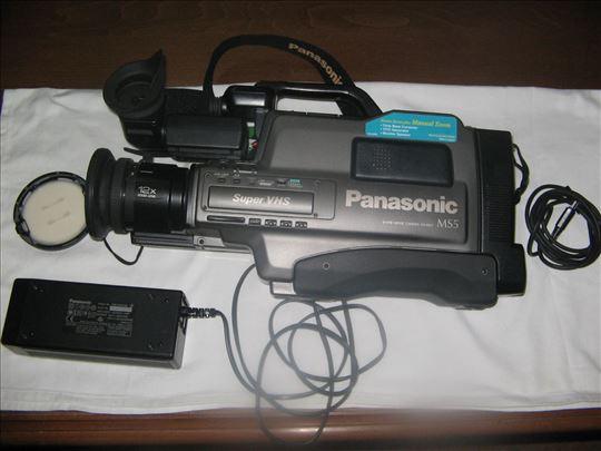VHS panasonik kamera