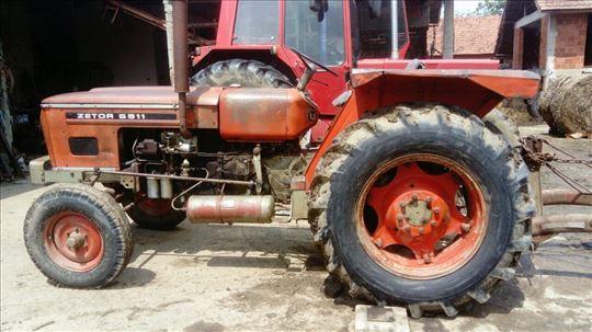 Zetor 591, prvi vlasnik 1980 i rasturivač sena Kuh