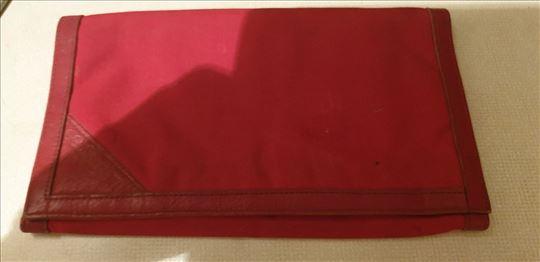 Crveni novčanik sa kožom - Made in Italy