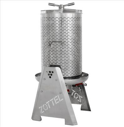 Vodena inox presa za groždje 35-250L Zottel