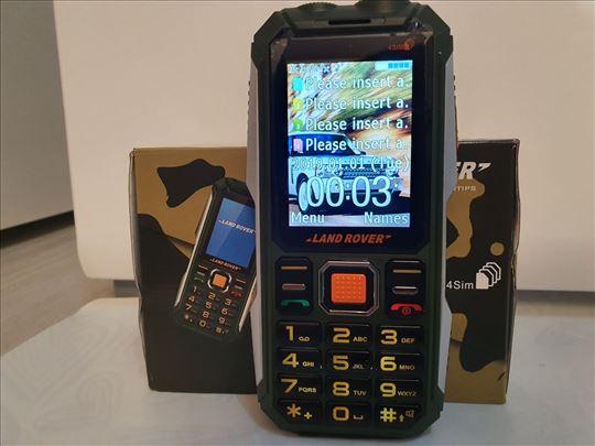 Land Rover mobilni telefon za 4 Sim kartice