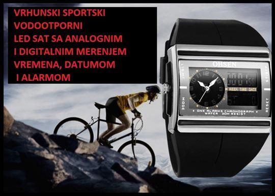 Sportski sat - Ohsen AD 0518 - dual time - origina