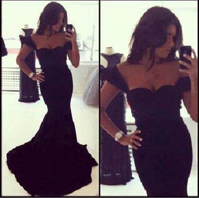 217) Sirena haljina sa bretelama više boja