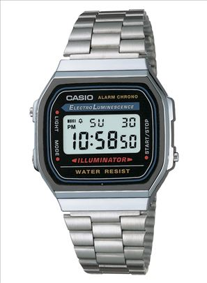 Men's Casio Digital Watch - Silver
