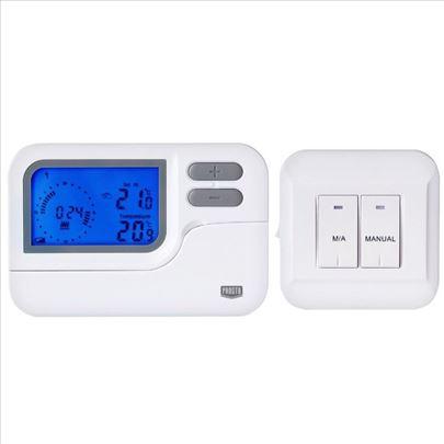 Programabilan digitalni bežični sobni termostat