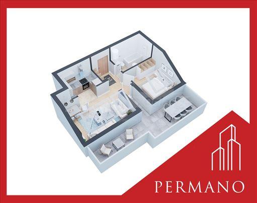 Novogradnja,1270e/m2,Povrat PDV,Podbara,58m2