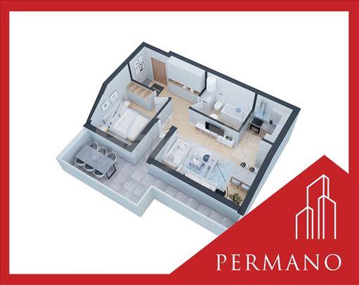 Novogradnja,1270e/m2,Povrat PDV,Podbara,60m2