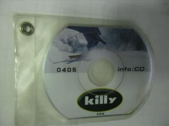 CD o proizvodima Killy