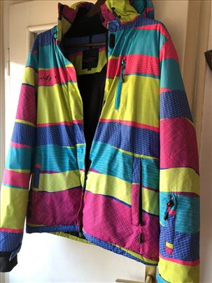 Topla nepromočiva zimska jakna