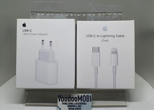 Apple 18W FAST Original Punjac iPhone / iPad NOVO