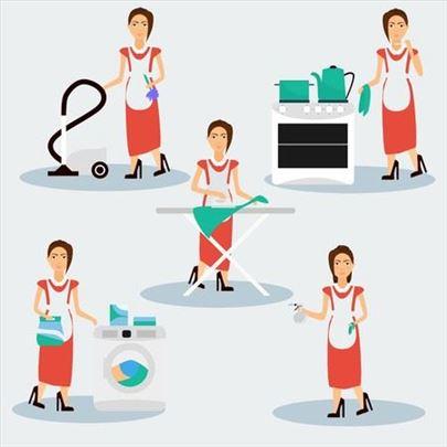 Peglanje, kuvanje i održavanje