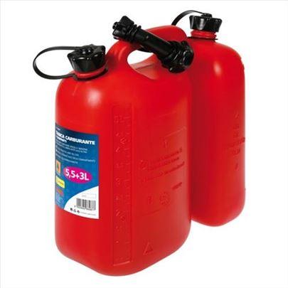 Kanister - kanta za gorivo - mešavinu 5.5+3L