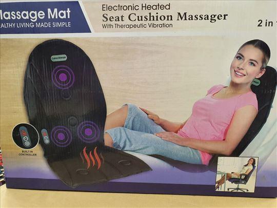 Masažer za auto sedište/fotelju sa grejačima