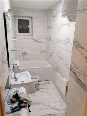 Adaptacija kupatila, renoviranje,uređenje i izrada