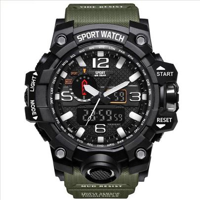 G style Shock sat dual time