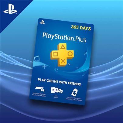 Playstation Plus i PSN Akcija UK USA