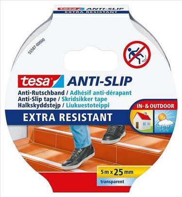 Antiklizna traka providna 25mm - 5m Tesa