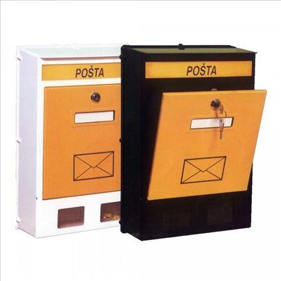 Poštansko sanduče PVC veliko i malo