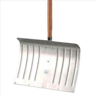 Lopata za sneg aluminijumska - gurač Muta