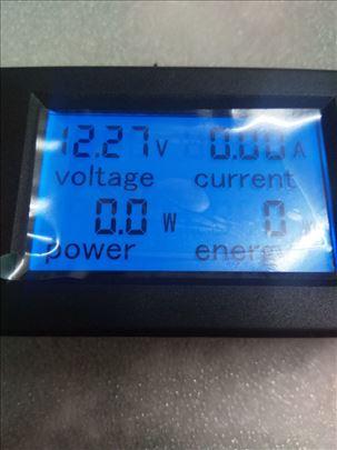 Ampermetar/voltmetar DC 6,5-99,9V, 0-20A