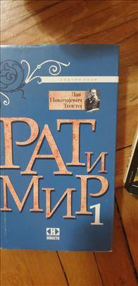 Knjige-Rat i Mir-Prohujalo sa vihorom 1-2-3-