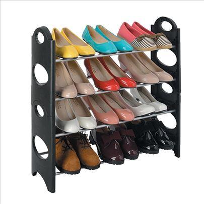 Cipelarnik za obuću na 4 nivoa