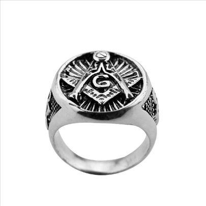 Masonski prsten, prečnici 20 i 21 mm