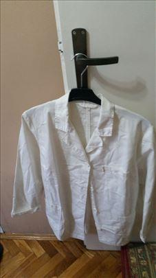 Radni mantil beli kratki Yumco vel 42