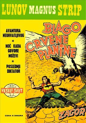 Lunov Magnus Strip i Zlatna serija komplet