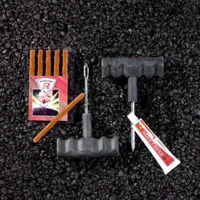 Set za brzo krpljenje guma