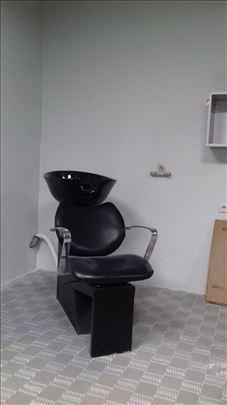 Šamponjera,Frizersko-berbesrka stolica,pult