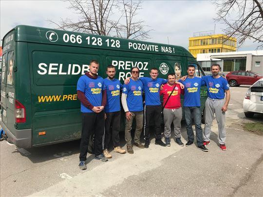 Selidbe Beograd kombi i kamion radnici - Povoljno