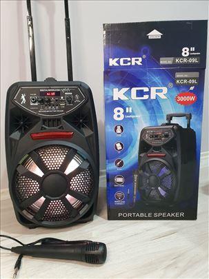 Zvučnik Bluetooth karaoke sa mikrofonom 8 inči