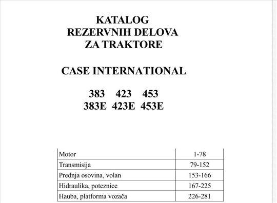 International 383-423-453 (E) - Katalog delova
