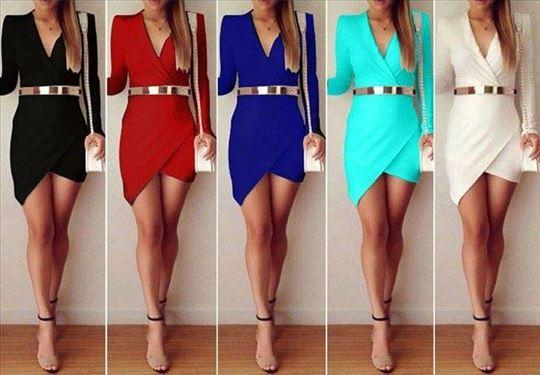 95) Prelepa kosa haljina, više boja