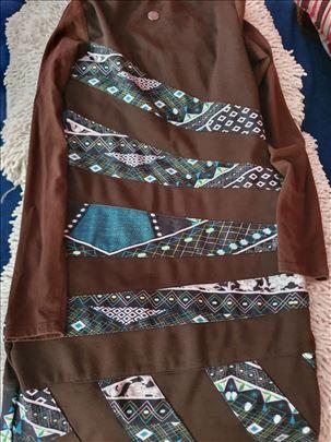 Braon haljina