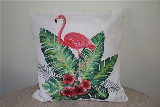 Prelepa jastucnica flamingo - dezen 1 - NOV!