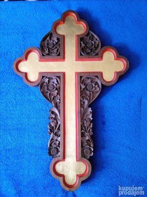 Златан Крст у дуборезу
