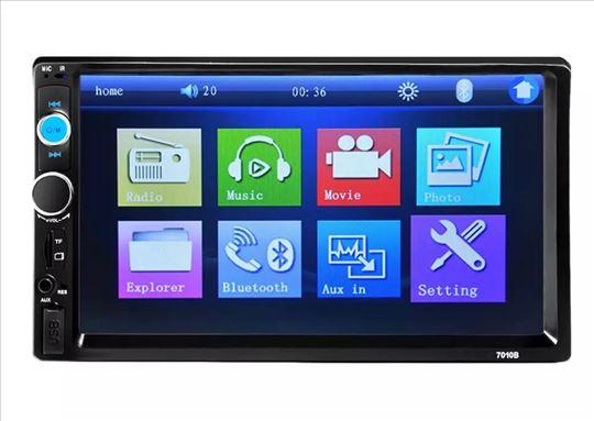 Auto radio multimedija mp3,usb,tf, fm touch screen